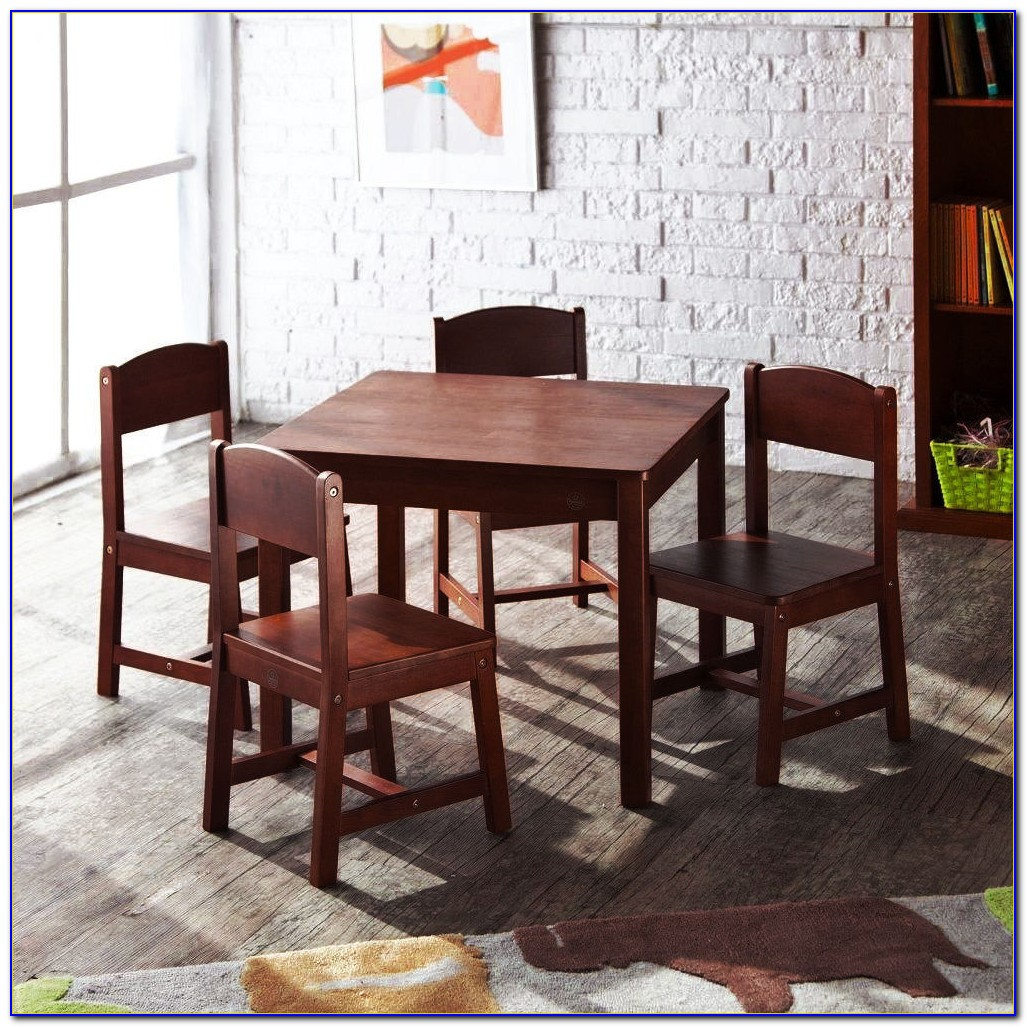 Farmhouse Kids' Table And Chairs Set