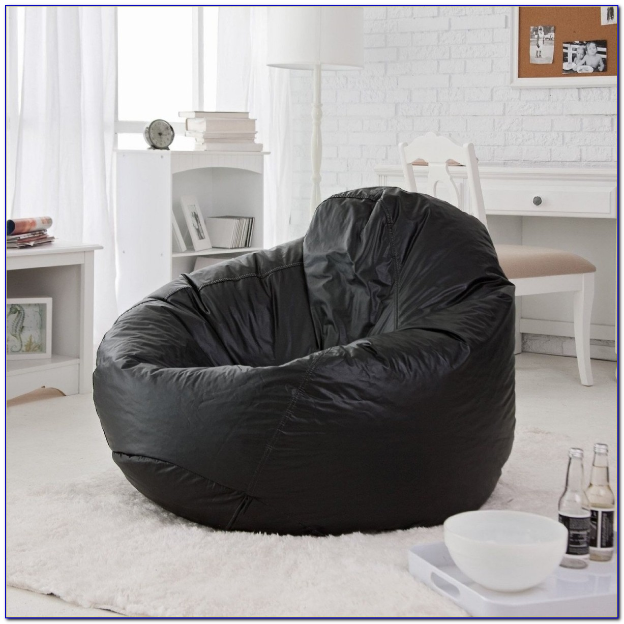 Fur Bean Bag Chair Cover