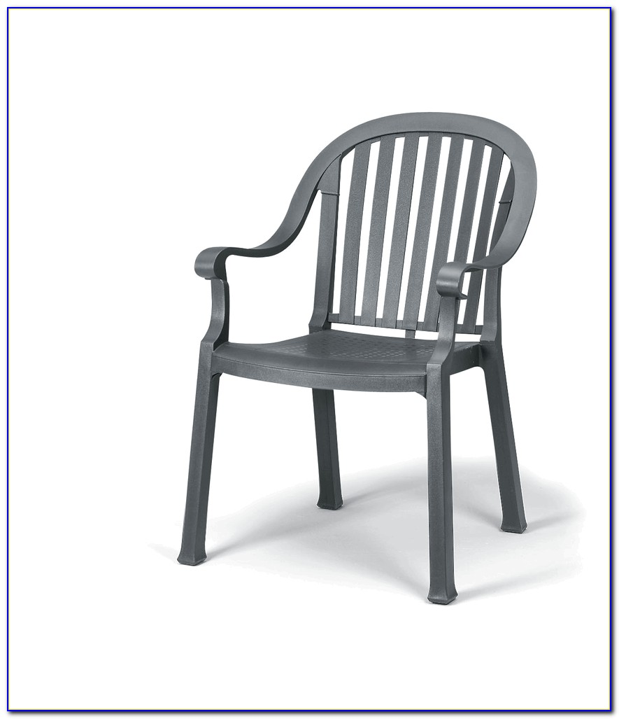 Garden Metal Dining Chairs