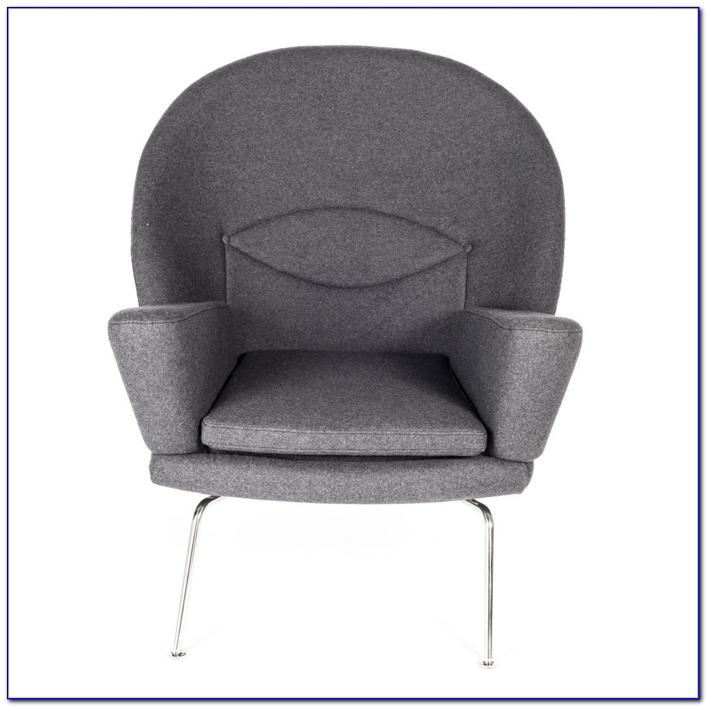 Gray Chair And Ottoman Slipcovers
