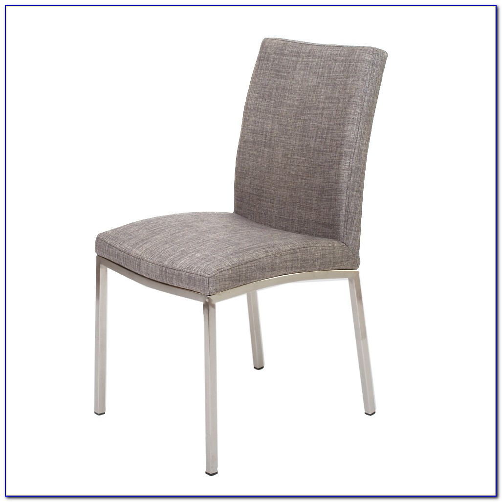 Gray Upholstered Dining Chairs