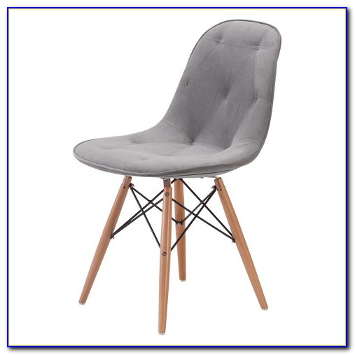 Gray Wood Dining Chairs