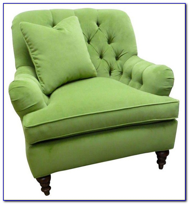 Green Velvet Tufted Dining Chair