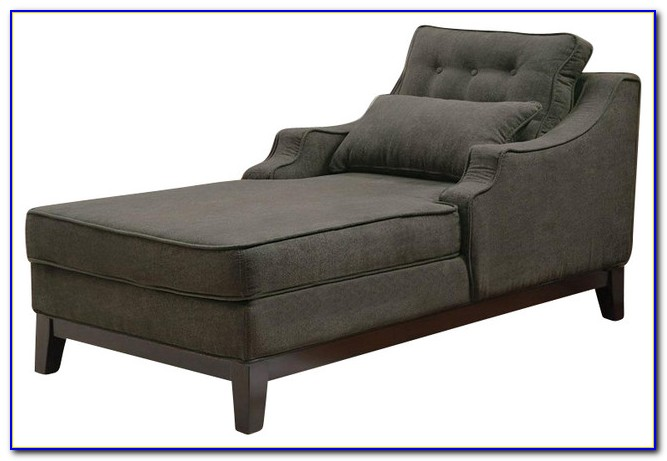Grey Chaise Lounge Chair