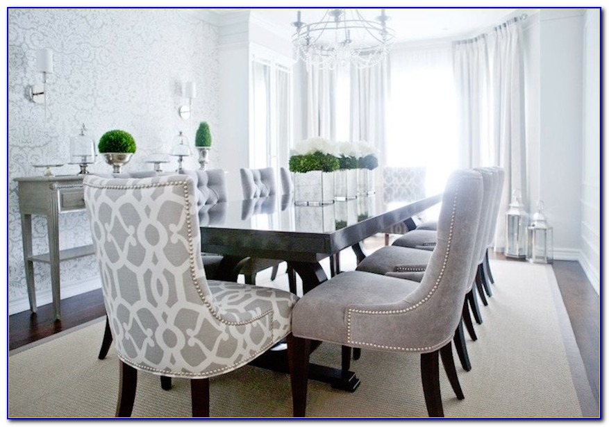 Grey Dining Room Chairs With Arms