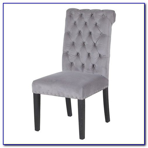 Grey Tufted Dining Chair Canada