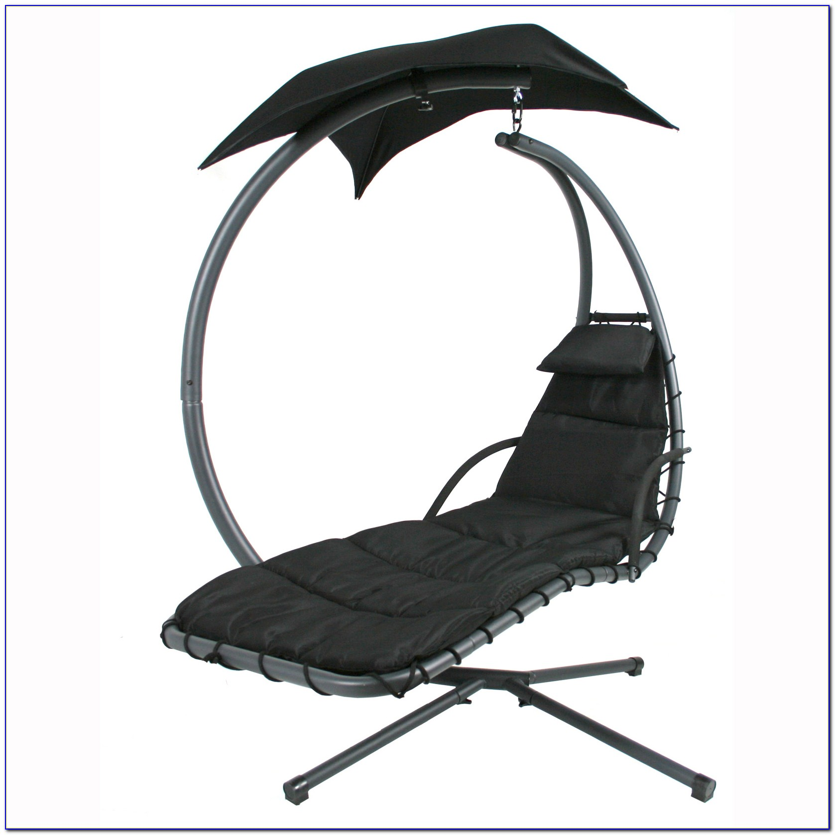 Hanging Chaise Lounger Chair Arc Stand Air Porch