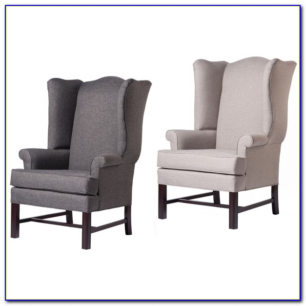 High Back Wing Accent Chair