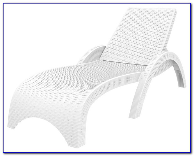 How To Clean White Resin Lounge Chairs