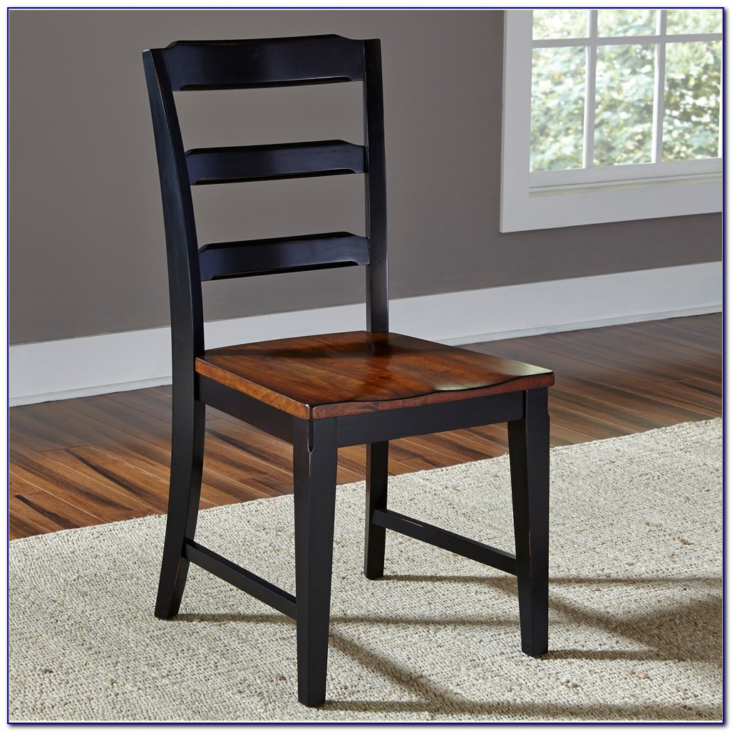 Ikea Black Wood Dining Chairs