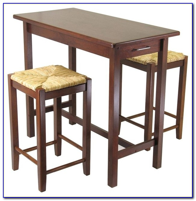 Indoor Wooden Bistro Table And Chairs