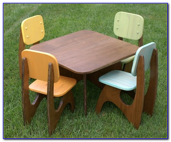 Kid Table And Chair Set India