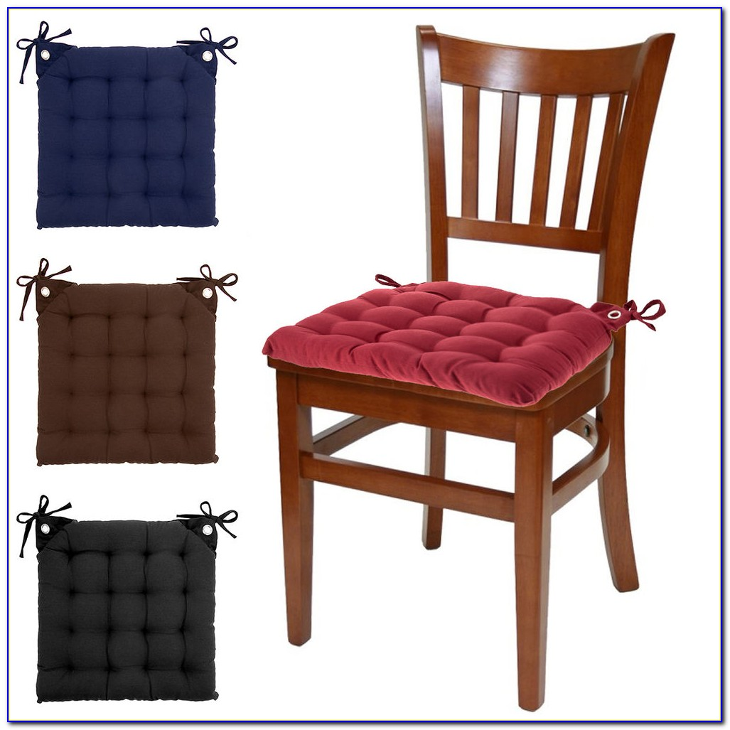 Kitchen Chair Cushions With Velcro Ties