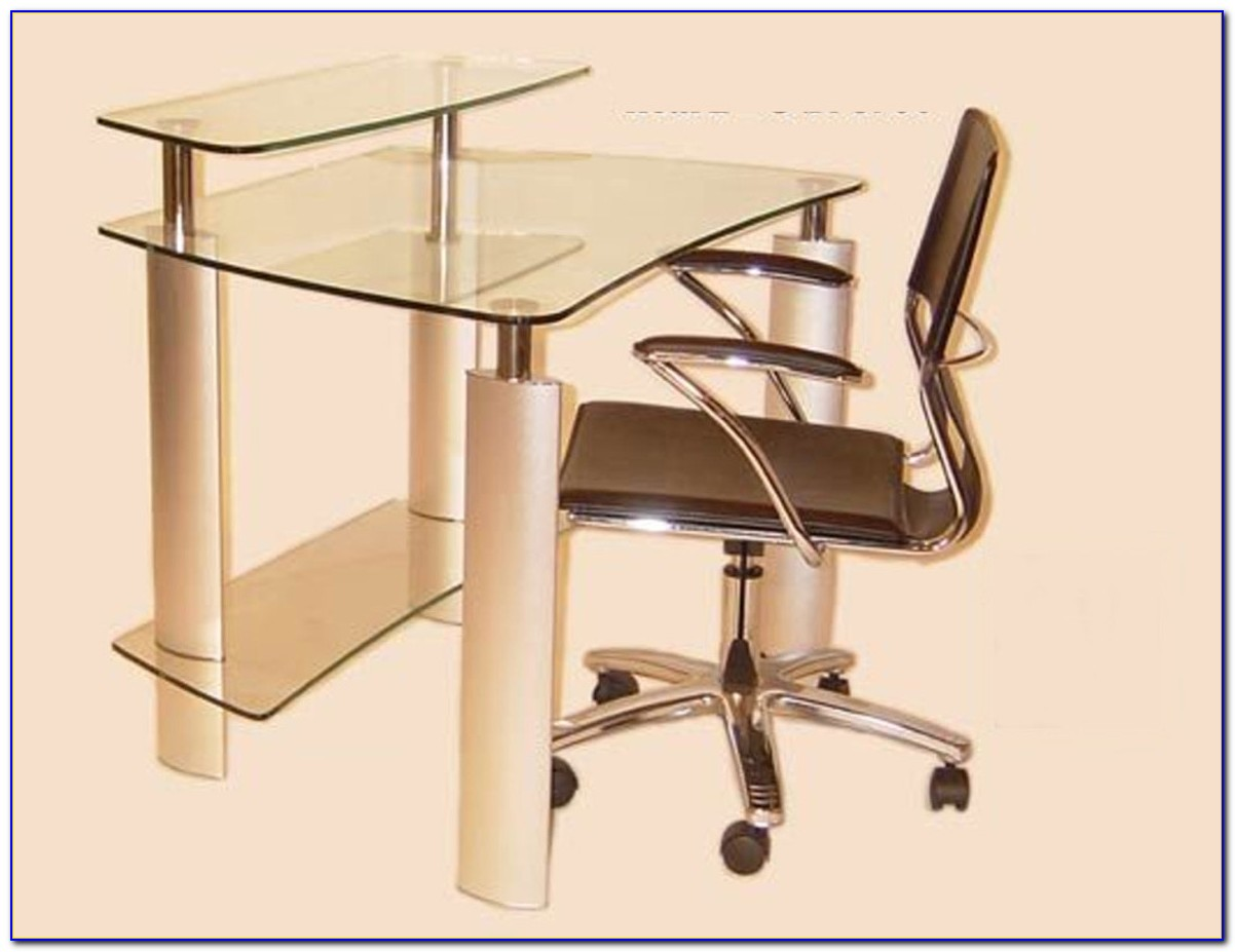 Levv Computer Desk And Chair Set