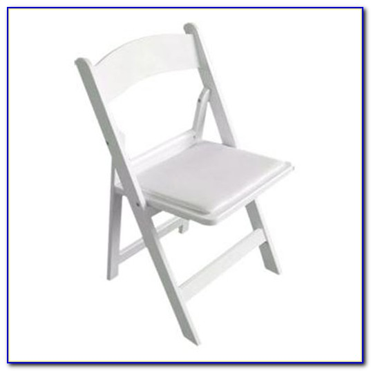 Lifetime White Plastic Folding Chairs