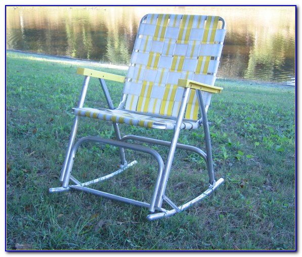 Lightweight Aluminum Folding Lawn Chairs