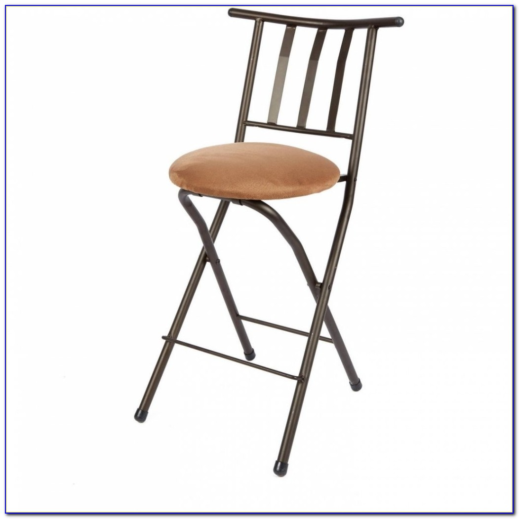 Linon Counter Height Folding Chair