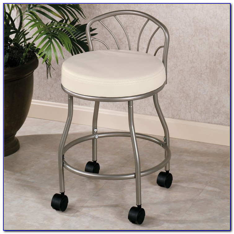 Makeup Vanity Chair With Wheels