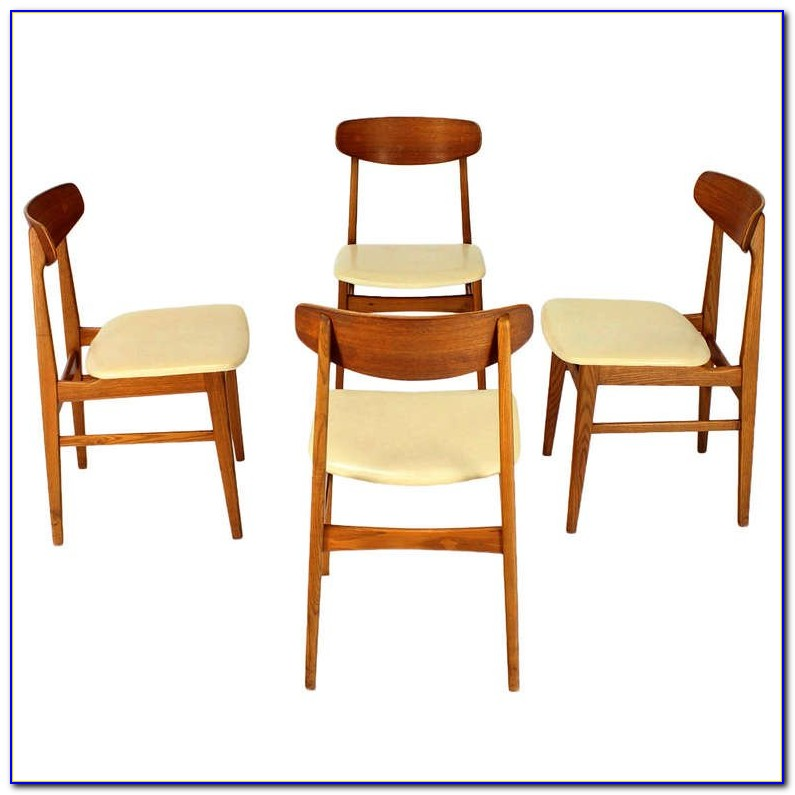 Mid Century Dining Chairs White