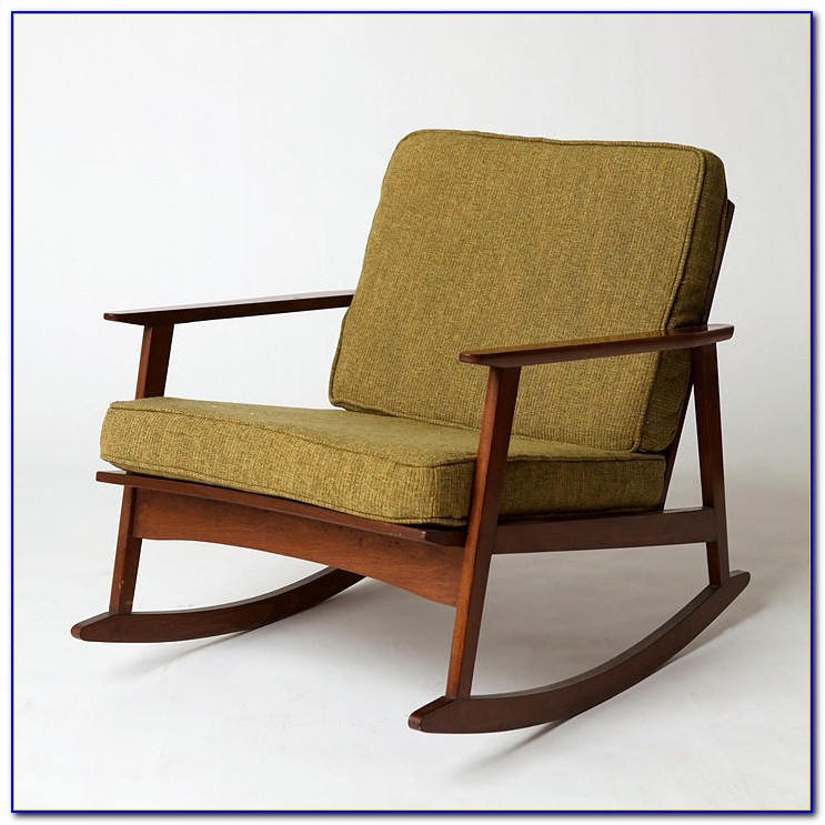 Mid Century Modern Furniture Rocking Chair