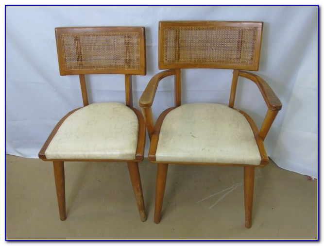 Mid Century Modern Upholstered Armchair