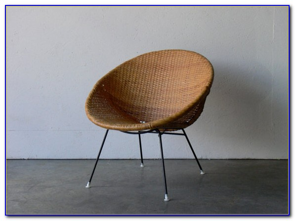Mid Century Wicker Chair Nz