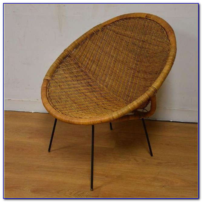 Mid Century Wicker Furniture