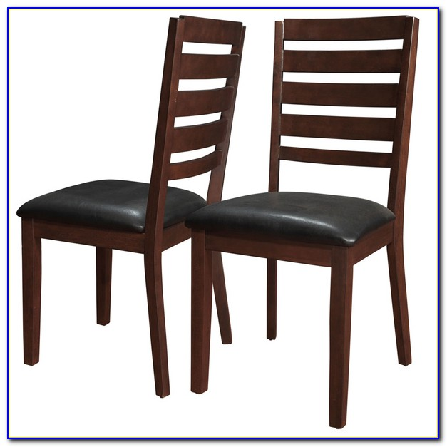 Modern Black Wood Dining Chairs