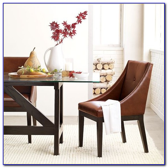 Modern Faux Leather Dining Chairs