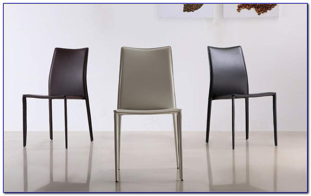 Modern Leather Dining Chairs Uk