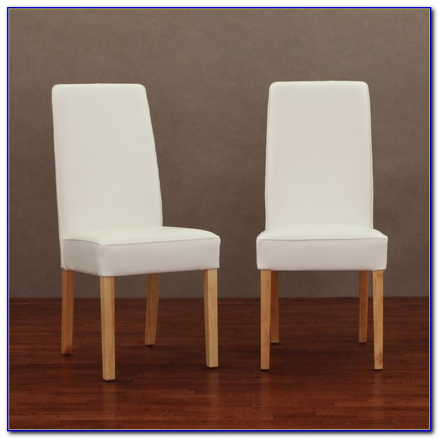 Modern Real Leather Dining Chairs