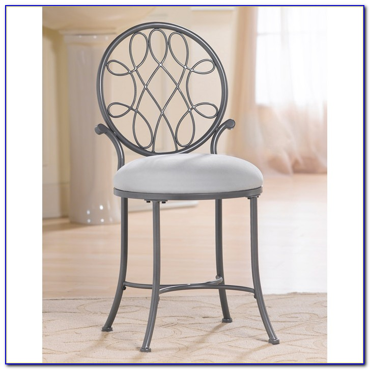 Modern Vanity Chair With Back