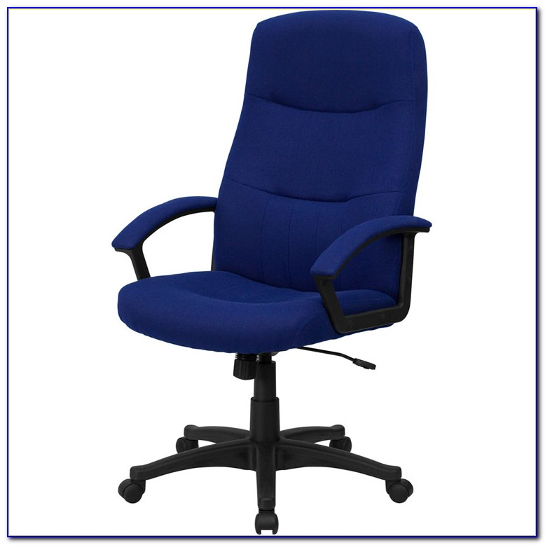 Navy Blue Desk Chair