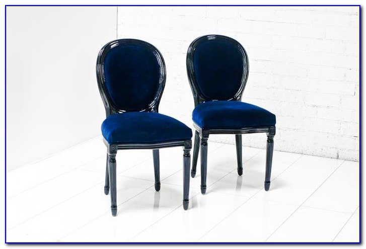 Navy Blue Dining Chair Covers