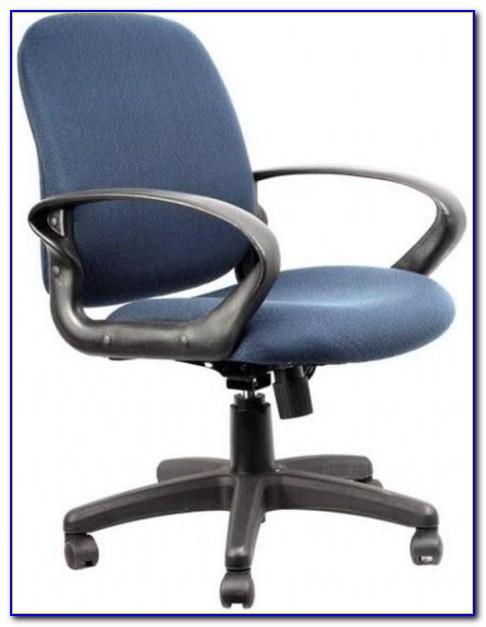 Navy Blue Wood Desk Chair