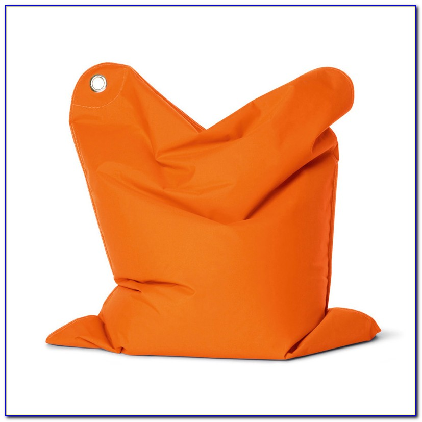 Orange Bean Bag Chair Cover