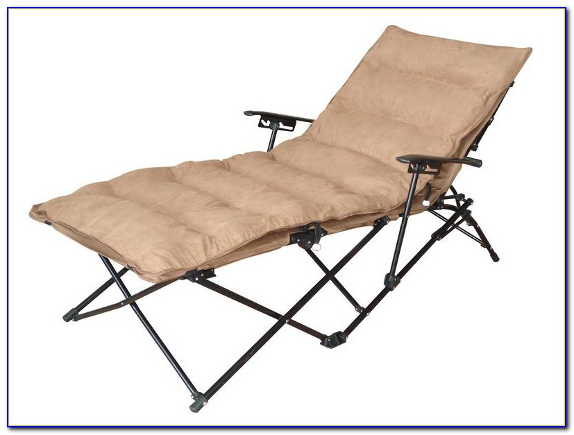 Outdoor Folding Rocking Lounge Chair