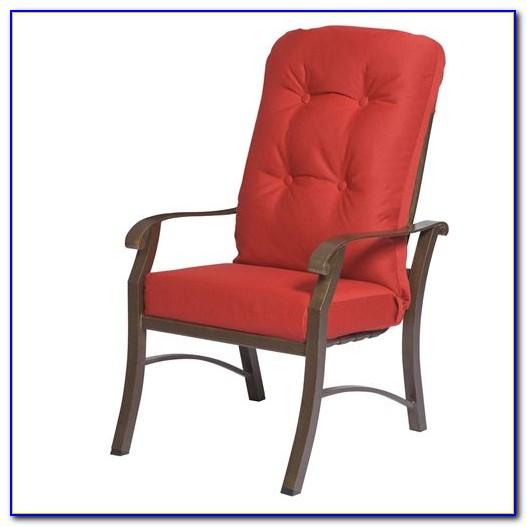 Outdoor High Back Chair Cushions Canada