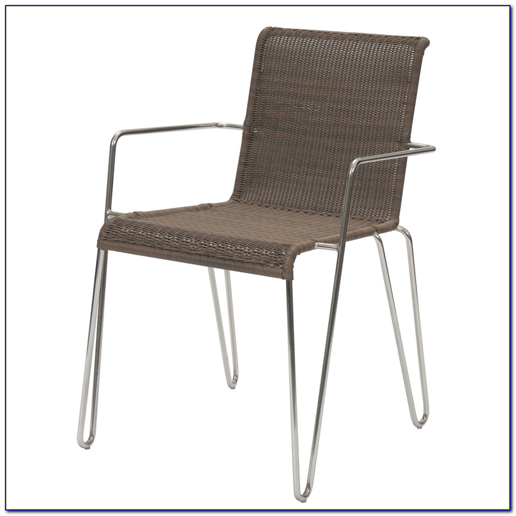 Outdoor Rattan Dining Chairs
