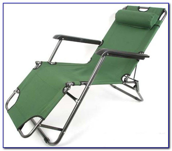 Outdoor Tri Fold Lounge Chair