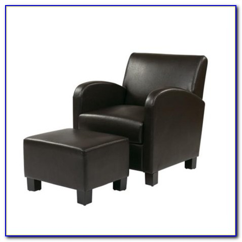 Oversized Club Chair With Ottoman