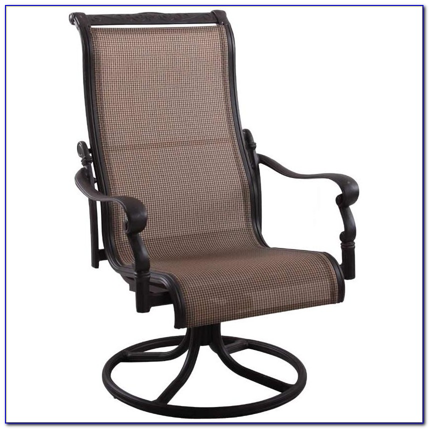 Patio Furniture Set With Swivel Chairs