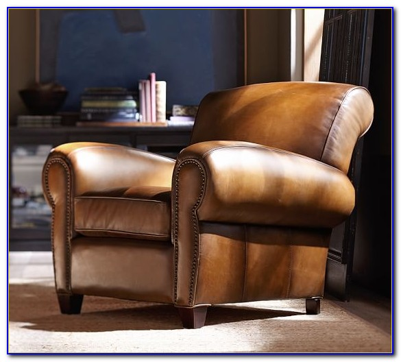 Pottery Barn Club Chair Recliner