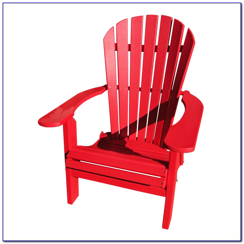 Red Adirondack Chairs Plastic