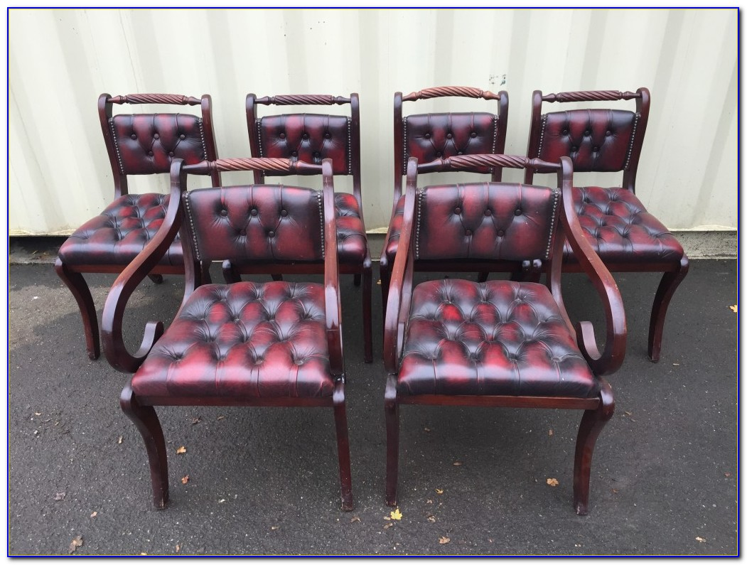 Red Leather Dining Chairs Canada