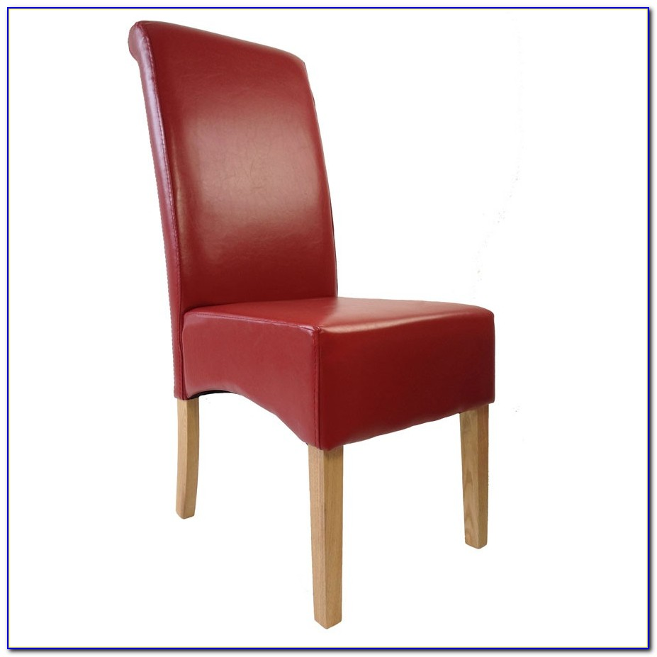 Red Leather Dining Chairs Uk