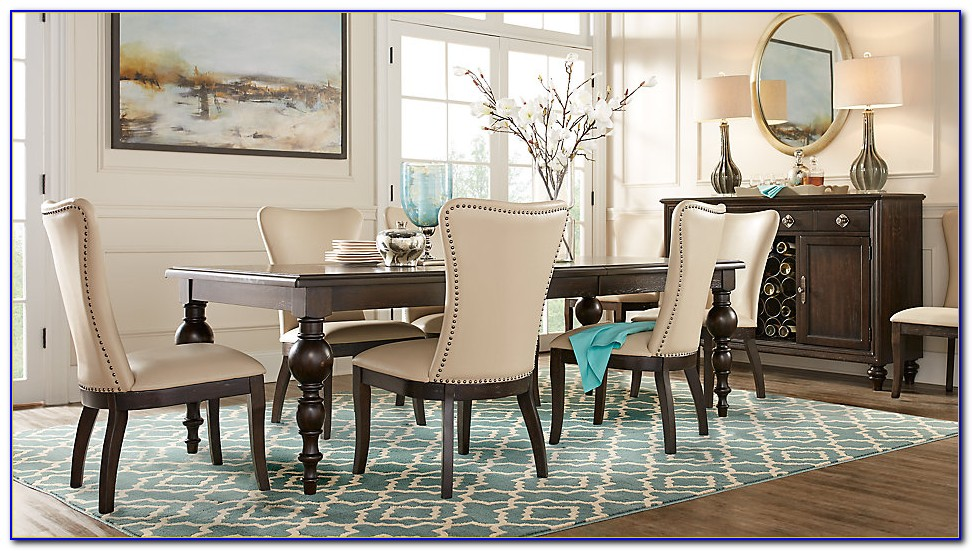 Rooms To Go Teal Dining Chairs