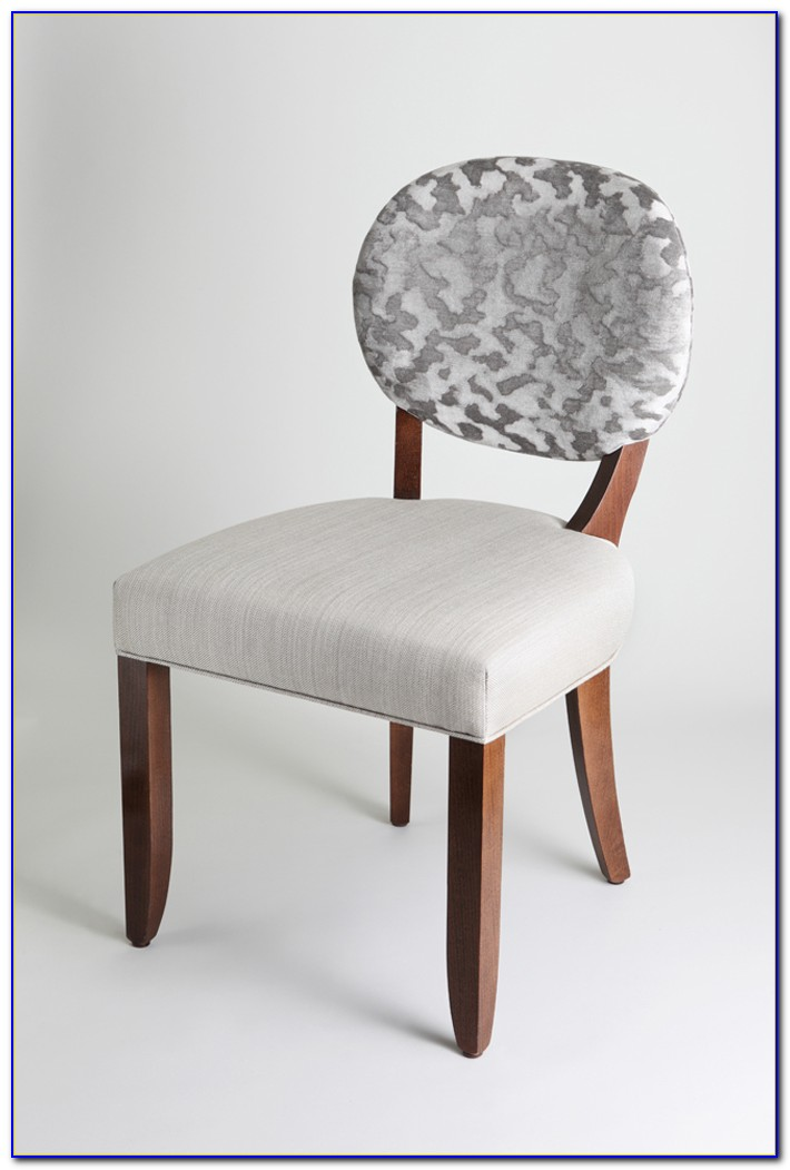 Round Back Dining Chair White