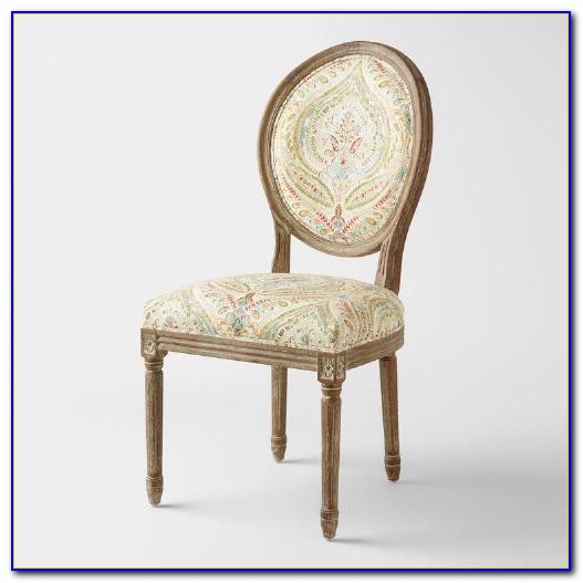 Round Back Dining Chairs Upholstered