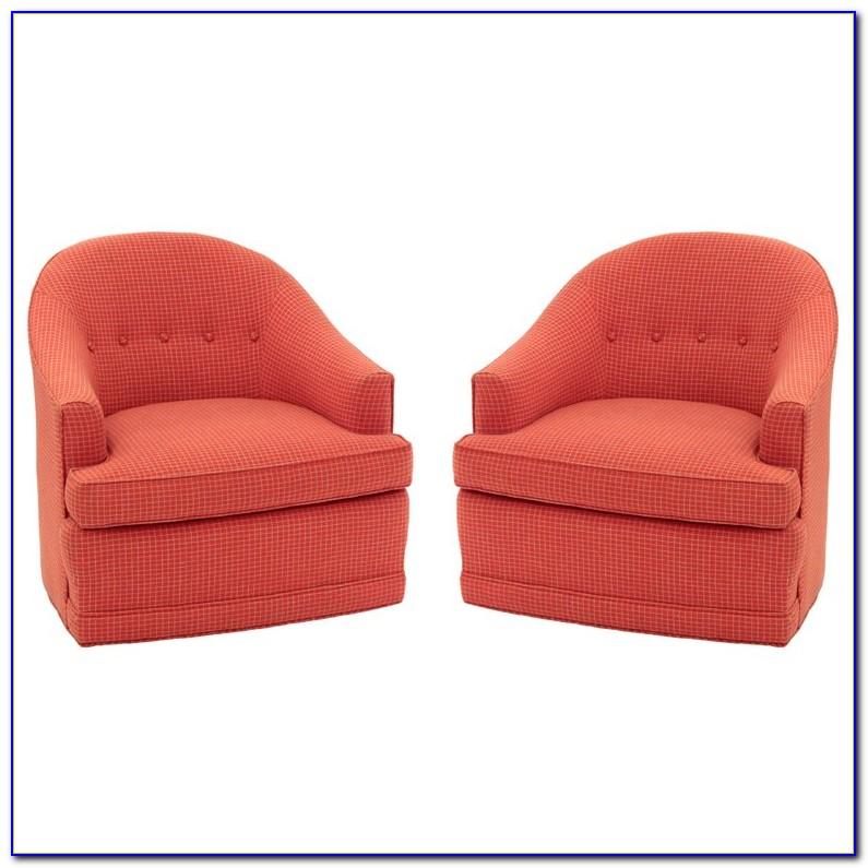 Round Back Swivel Chair Slipcover